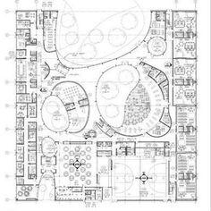 download.blog 390×391 pixels Landscape Architecture Design, Education Architecture, Parametric Architecture, Concept Architecture, School Floor Plan, Office Floor Plan, Office Layout Plan, Museum Plan, Architectural Floor Plans