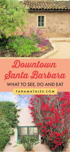 Downtown Santa Barbara: Things to Do, See and Eat - Tanama Tales Usa Travel Guide, Travel Usa, Travel Guides, Travel Tips, Travel Abroad, Cool Places To Visit, Places To Travel, Downtown Santa Barbara, Santa Barbara Restaurants