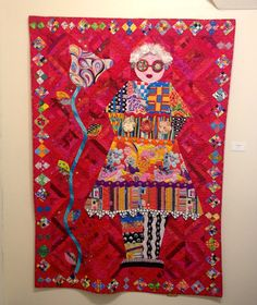 I went to the show of Freddy Moran collage quilts at La Conner ... : laconner quilt museum - Adamdwight.com