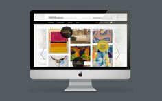 1000 Museums website by Noise 13