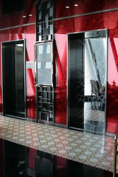 Graniglia floors in Guangzhou Tower in China