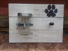 Reclaimed Wood Treat and Leash Holder by TheReclaimDame on Etsy, $35.00