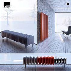 PILOU radiator designed by Nonegrupa