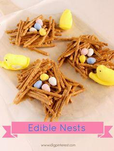 I Dig Pinterest: Edible Nests