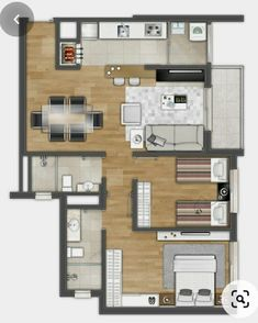 TIPO cotas - Flavor Tutorial and Ideas Small House Layout, Small Tiny House, Small House Design, House Layouts, Small House Plans, House Floor Plans, Design Your Own Home, Home Building Design, Home Design Plans