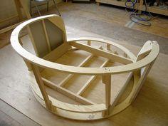 Muse Cuddler Chair Frame