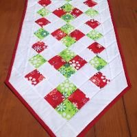 Free Pattern, Easy Christmas Table Runner - via @Craftsy