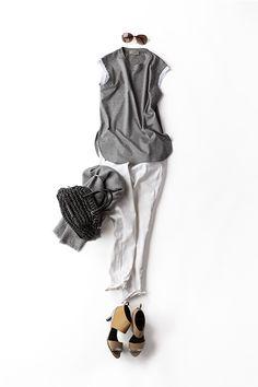 Kyoko Kikuchi's Closet | デニムとノースリTを、なんだか女っぽく着たくなって