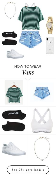 """Simple but cute"" by adancer13 on Polyvore featuring Calvin Klein, Vans, Gucci and Rebecca Minkoff"