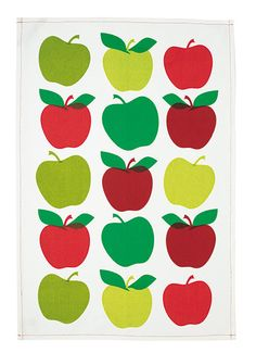 Cotton teatowel - simple but effective graphic print.