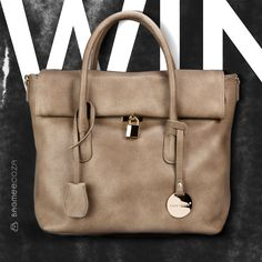 Win With Bagmee. Stunning bags at very good prices 2014 Fashion Trends, Beautiful Handbags, Wishful Thinking, Style Me, Branding, Lovers, Tote Bag, Gray, Link