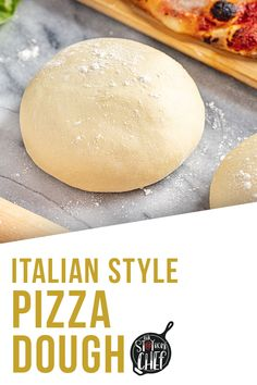 You can now achieve the perfect Italian-style Pizza Dough at home with our complete guide that includes simple tips and tricks, and a full video tutorial. This easy recipe has less than 10 ingredients! Perfect Pizza, Good Pizza, Pizza Pizza, Pizza Party, Italian Pizza Dough Recipe, Simple Pizza Dough Recipe, Pizza Recipes, Cooking Recipes, Breads