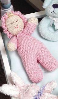 Adorable poupon rose trouvé sur le blog de Bidouillette !