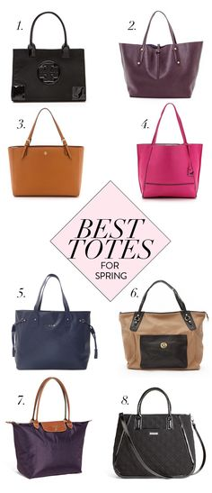 best tote bags for spring.