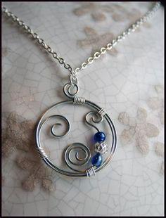 Spiral Wire Necklace