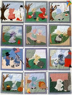 A Quilter's Table:  Sunbonnet Sue quilt calendar
