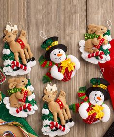 Love this Forest Friends Six-Piece Felt Ornament Kit on #zulily! #zulilyfinds