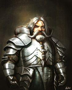 Warrior Dwarf by ArtofOkan