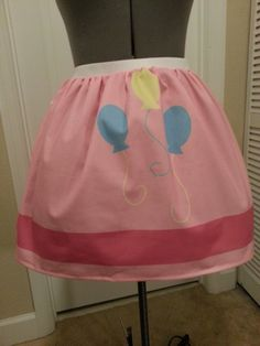 My Little Pony inspired full skirt - cutie mark - any pony - made to order. $45.00, via Etsy.