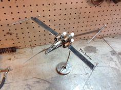 Scrap Metal Art, Sculpture, Ceiling Fan, Home Decor, Ceiling Fans, Interior Design, Sculpting, Home Interior Design, Statue