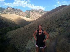 Hiking to goldbug hotsprings Idaho 2013
