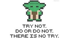 Free Geeky Cross Stitch Patterns [Printables], Yoda, Dr. Who, Back to the Future, more