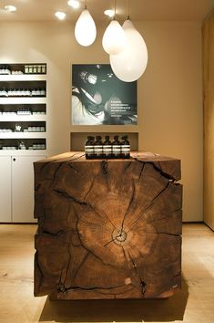 Designer Interview - Lies-Marie Hoffmann Hair Loss: Biotin is Food for Your Ha Pharmacy Design, Retail Design, Aesop Store, Showroom, Retail Interior, Vape Shop, Nordic Design, Retail Shop, Store Design