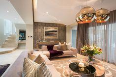Sandown - Formal Lounge contemporary living room