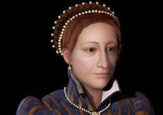 Reconstruction of the face of Mary Queen of Scots. There were no portraits painted during her time in Scotland. Normally the process of reconstruction begins by examining the skull but now the facial proportions, size of her features had to come from portraits, not bones bones. The aim was to do depict how she would have looked at the time she lived in Scotland, a difficult time for her, and later portraits make her look significantly older than her years.