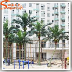 Artificial Coconut trees projects for beach from Wendy of Guangzhou Songtao Artificial Tree Co.,Ltd