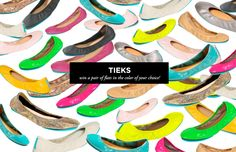 The Everygirl's Anniversary Giveaway Extravaganza: Win a pair of Tieks flats in the color of your choice!