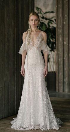Courtesy of Rita Vinieris wedding dresses Rivini Spring 2019 collection; Photo: Mike Colon #weddingdress