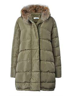 Sale 24% (94.96$) - Loose Women Solid Warm Pocket Long Sleeve Hooded Thicken Coat