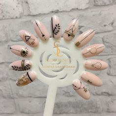 Nail Shapes - My Cool Nail Designs Crazy Nails, Love Nails, Pretty Nails, Nail Art Arabesque, Dream Nails, Stylish Nails, Perfect Nails, Matte Nails, French Nails