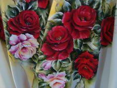 Toalha de mesa pintada