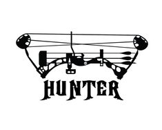 Bow Hunter Vinyl Decal - Deer Bow Hunting Sticker - Compound Bow