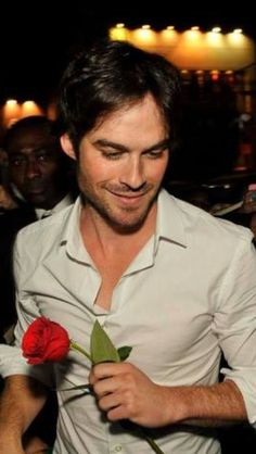 Sexy Ian is really a romantic lover