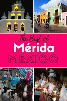 Are you looking for ideas of what to do in Merida, Mexico? Here's a travel guide of the best things to do!