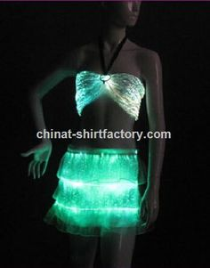 led light sexy belly dance costume for sale