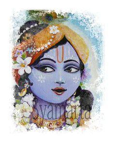yasoda krishna prints any size devotional art dreamy by syamarts