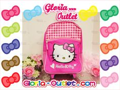 "1 pc New Hello Kitty Rolling Backpack 16"" School Bag Kids Girl Pink Gift Saniro  #hellokitty #sanrio #loungefly #travel #backpack #wheeled #Roller #school #summer #satationary #notebook #lunchbox #hellokittyaddic t#hellokittylover #Gift #fashion #cute #love #toy #beauty #handbag #wallet #purse #runway"