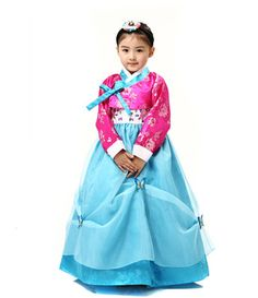 Girl's hanbok.  This hanbok type has 2 colors.  For the other one,   http://www.ebay.com/itm/Age-1-3-Korean-tranditional-clothes-HANBOK-1043-dress-custume-Baby-Toddler-kid-/270911299133?pt=LH_DefaultDomain_0==item84ba22353f  I remember I was like to go to grandma's home. When I was little girl, mom let me wear Hanbok dress when we go to grandma's home.  I remember my hanbok is yellow+orange colors.  Now I sell hanbok dress, but I still really like to wear the hanbok.
