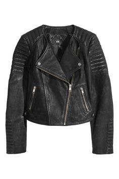 Veste en cuir de style motard | H&M
