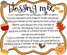 Blessing Mix {printable}