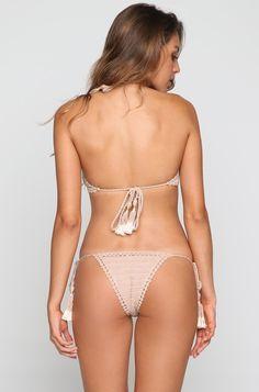 Brazilian Bikini Bottom in Shell