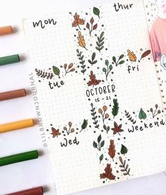 Bullet journaling ideas - Bullet journaling ideas A beautiful bullet journal spread by ig Autumn Bullet Journal, Bullet Journal And Diary, February Bullet Journal, Bullet Journal Mood, Bullet Journal Aesthetic, Bullet Journal Themes, Bullet Journal Spread, Bullet Journal Layout, Bullet Journal Inspiration