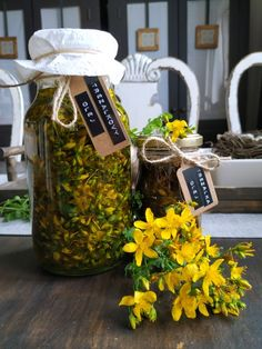 Herbalism, Table Decorations, Diy, Gardening, Home Decor, Herbal Medicine, Bricolage, Lawn And Garden, Interior Design