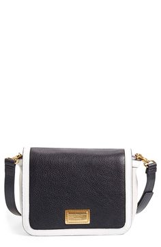This classic, structured Marc Jacobs crossbody bag means business.