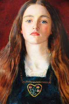 Sophie Gray - Sir John Everett Millais 1857 - More at http://en.wikipedia.org/wiki/John_Everett_Millais (Thx Marie-Louise)