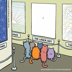 cat cartoon, no artist given  :)